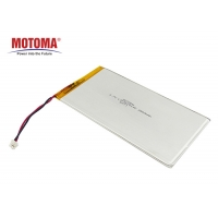 Buy cheap 3900mAh Rechargeable Lithium Ion Battery , Ultra Thin Li Ion Battery KC Certificate product