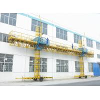 China ZLP1000 1000kg Mast Modular Climbing Work Platforms Safety Low noise on sale