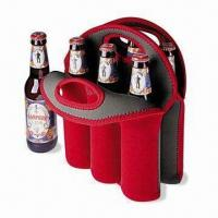 Buy cheap Neoprene Can/Beer Bottle Cooler with Logo Printings, Measures 32 x 38 x 0.3cm product