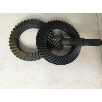 Quality Custom Ring And Pinion Gears , Spiral Crown And Pinion Gear Long Using Life for sale
