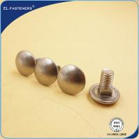 Buy cheap M6~M20 Round Head Carriage Bolt , Square Neck Carriage Bolt 4.8 Grade product
