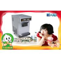 Buy quality Table Top Yogurt Ice Cream Machine , Big Hopper Stainless Steel at wholesale prices