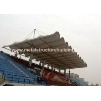 Buy cheap Aluminum Window Prefabricated Steel Structures Round Steel Brace For Stadium product