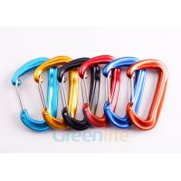 Buy cheap D Shape Snap Hook Carabiner Aluminum 7075 Material Good Accessory For Lanyards from wholesalers