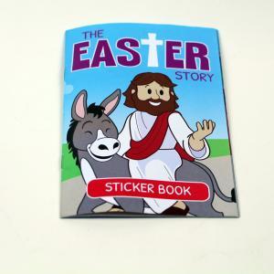 China OEM Design Custom Sticker Book Printing Full Color For Childrens on sale