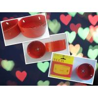 Buy cheap Red Color 95mm M42 Bimetal Hole Saw 32mm Cutting Depth product
