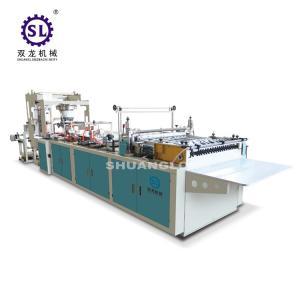 Buy cheap Slef-closing zipper bag making machine automatic polythene 12.8kw Power product