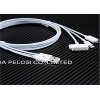 Buy cheap TPE ABS Data Sync Charger Cable  , AAA Grade 5.0 V Micro USB  Data Cable product