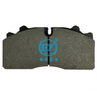 Buy cheap Ceramic Standard Size WVA29087 Truck Brake Lining from wholesalers