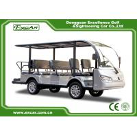 Buy cheap Silver 11 Seater Electric Sightseeing Bus 7.5KW KDS Motor 1 Year Warranty from wholesalers