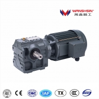 Buy cheap Wanshsin K Series Helical Transmission Speed Reducer AC Electric Bevel Gear Motor for heavy industry product