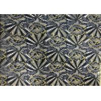 Buy cheap Chemical embroidery lace fabric polyester african fabric for dresses white swiss cotton product