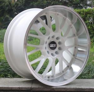 "BCZ11/18""X8.5J and 18""X10J /casting wheels/imitation 3 piece wheel/deep dish wheel"