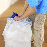 Buy cheap 13 Gallon Tall Kitchen Garbage Bags With Lavender Sweet Vanilla Smell product