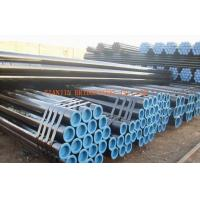 Buy cheap Q345, Q295 Seamless Steel Tubing, Black Painted Hot Rolled Seamless Pipe product
