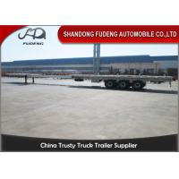 Buy cheap Telescopic Wind Blade Transport semi Trailer 50 ton can extend product