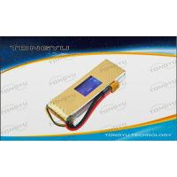 Buy quality Li-Polymer RC Battery Pack 11.1V 3700mAh With 30C Continuous Discharge Current For RC Plane , RC Toys at wholesale prices