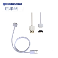 Buy cheap 4Pin 2.54mm Pitch Male Female Magnetic Pogo Pin cable Charger Connectors white from wholesalers