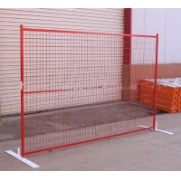Buy cheap Galvanized Road Closure Removable Canada Temporary Fence product