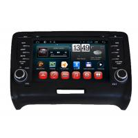 Buy quality Audi TT Car GPS Navigation System Android Car DVD Player 3G WIFI SWC at wholesale prices