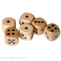 wooden dice 12mm dice kids toy dice natural wood game dice wholesale