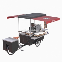 Buy cheap Hot Dog Mobile Multifunction Bike Food Cart For Commercial Street product