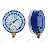 """Buy cheap 2.7"""" PC Screw In Lens Freon Pressure Gauge Measurement With Brass Internals product"""