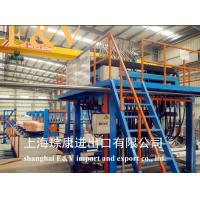 Buy cheap Air Clamping 20mm Copper Rod Continue Casting Machine Complete Line With Touch Screen product