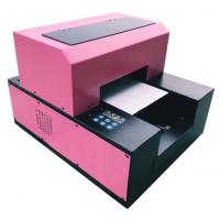 Buy cheap Mini A3/ A4 UV Flatbed Printer , PVC Card Flatbed 3d Embossing A3 Uv Printer from wholesalers