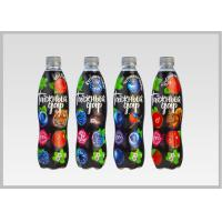 Buy cheap Printed Heat Shrink Bottle Sleeves , Personalized Labels For Water Bottles PVC Shrink Films product
