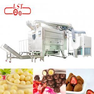 Non Contamination Chocolate Coating Machine For Pharmaceuticals Industrial