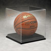Buy cheap Basketball Acrylic Display Stand Case For Sport Equipment Advertising product