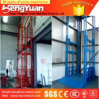 Buy cheap guide rail chain lifting machine/guide rail chain vertical guide rail goods lift product