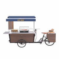 Buy cheap SS304 48V Spray Paint Box Structure Bike Food Cart product
