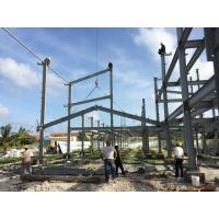 Buy cheap 2 Floor Steel Framed Buildings Warehouse Steel Structure With Alkyd Grey Paint in Maldive product