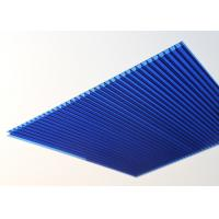 Buy cheap 10mm Polycarbonate Roofing Sheets Twin Wall High Light Transmission product