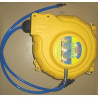 Buy cheap Samlongda  Retractable air hose reel, PP cover with 1/2 pvc air hose, max 15bar, keep the hose in order product
