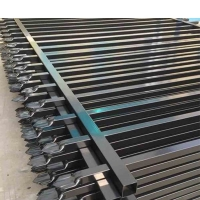Buy cheap PVC Coated Ornamental Galvanized Steel Picket Fence product