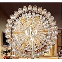Creative Sun Goddess Style Round Crystal Wall Lamp Lights With E14 LED Bulb For Gangway Passageway Corridor