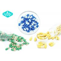 China Empty Hard Gelatin Capsules , Vacant Hard Gelatin Capsules with Clear , Yellow , Blue , White , Green Color on sale