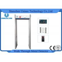 Buy cheap New Type 6 zones Walk-Through Metal Detector Gate With Full Body Outlay Display from wholesalers