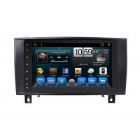 Buy cheap 2 Din Radio Mercedes Central Multimedia GPS In Vehicle Navigation Benz SLK Class product