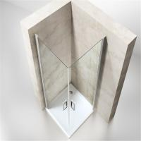 Buy cheap Low Price Bathroom Simple Sliding Curved Shower Enclosure for Sale product