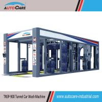 China Automatic car washing machines with Flat belt conveyor/Automated stainless tunnel car wash on sale