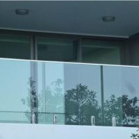Buy cheap Modern High Quality Outdoor Stainless Steel Glass Balcony Railing Design product