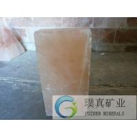 China Good Quality Crystal Himalayan Natural Rock Salt Wall Brick and Tiles used in Therapy Rooms on sale