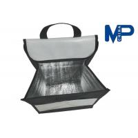 Buy quality Square Flat folding lunch cooler bag promotional gift insulated lunch coolers at wholesale prices
