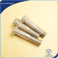 Buy cheap Customized Length Stainless Steel Hex Bolts Grade 8.8 For Automotive Fasteners product
