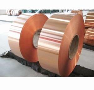 Buy cheap 1000mm Width Solar Power Band Copper Aluminum Foil product