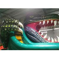 Buy cheap Lake Inflatable Water Pool Slide , Kids Inflatable Slides Air Sealed Long Distance product